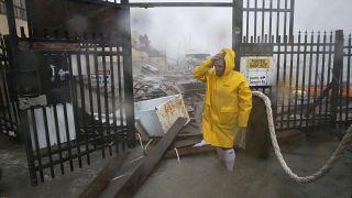 Cuatro desaparecidos e inundaciones en México al paso del huracán Hanna