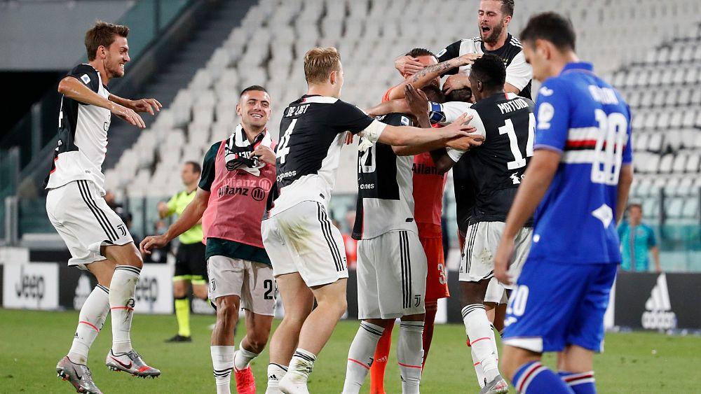 İtalya Seri A'da Juventus peş peşe 9. kez şampiyonluğunu ilan etti
