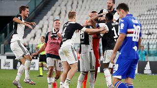 Juventus bir kez daha şampiyon oldu