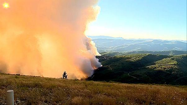 Le centre du Portugal en proie aux flammes