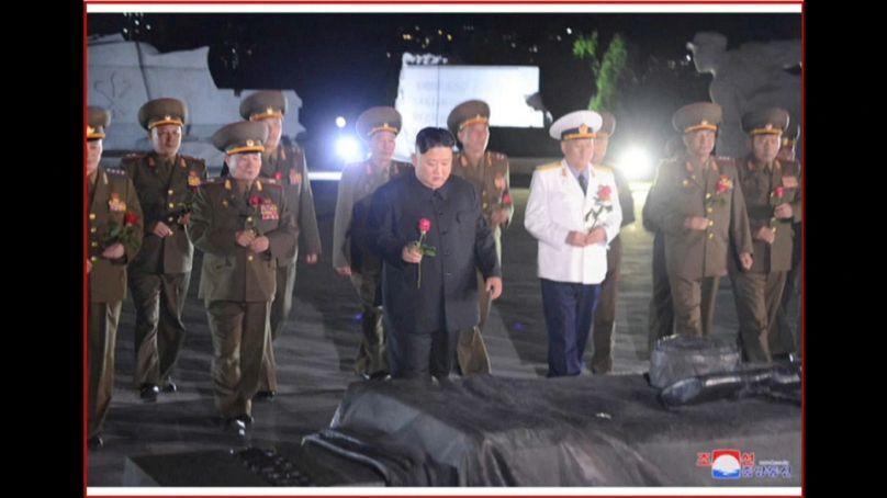 Tv di stato nordcoreana.