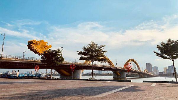A Sárkány-híd Danangban