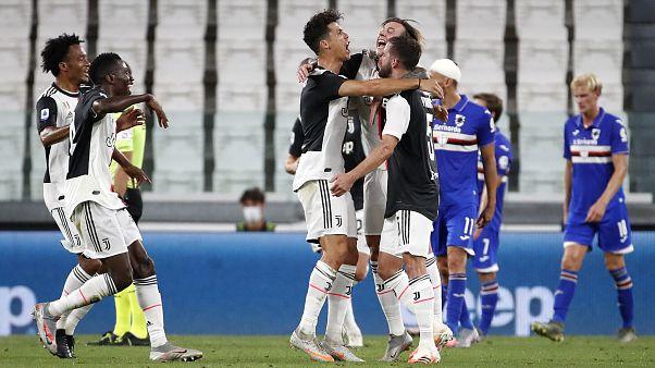 Ronaldo und Co feiern die neunte Meisterschaft in Folge von Juventus Turin