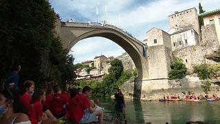 Pandemia não travou os mergulhos em Mostar
