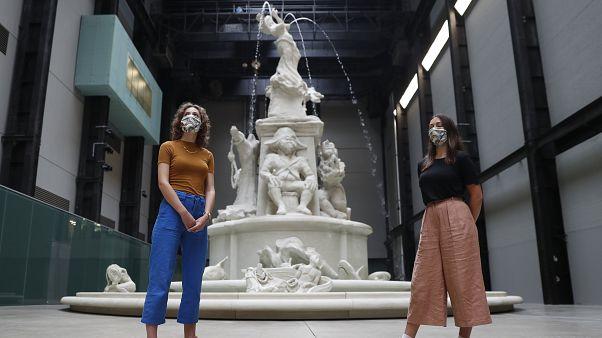 Mitarbeiter von Tate Modern in London