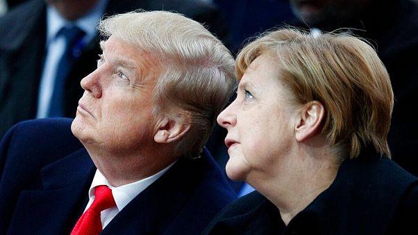 صدراعظم آلمان و رئيسجمهوری آمریکا