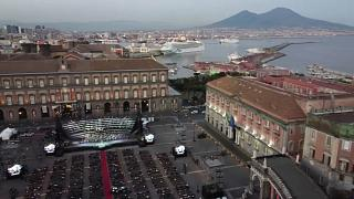 The San Carlo Theatre in Naples takes Verdi's Aida to Plebiscito Square, Saturday July 25