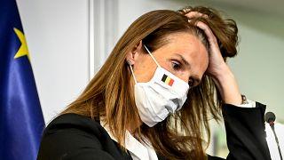 Sophie Wilmes belga miniszterelnök