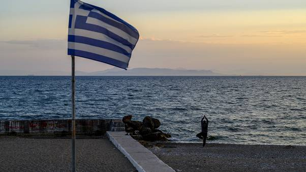 Yunanistan bayrağı (Arşiv)
