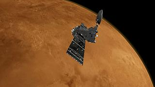 Trace Gas Orbiter at Mars