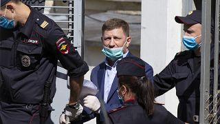 Sergej Furgal in Moskau am 10. Juli