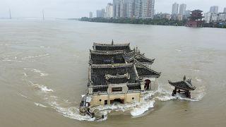 Hochwasser in Hubei