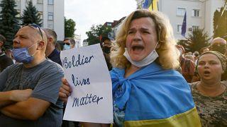 Ukraine-Konflikt: Armee wirft Separatisten Bruch der Waffenruhe vor