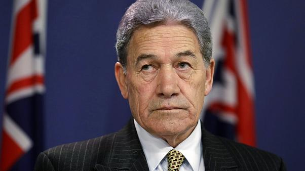 Oct. 4, 2019, file photo, New Zealand Foreign Minister Winston Peters