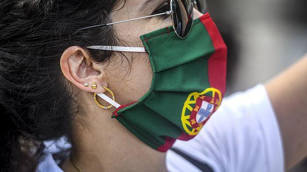 من البرتغال خلال إحدى المظاهرات