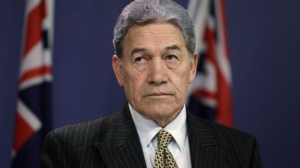 وينستون بيترز وزير خارجية نيوزيلندا