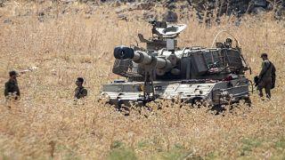 القوات الإسرائيلية على الحدود مع لبنان