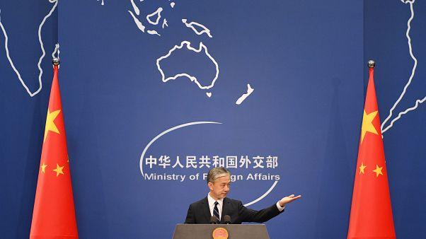 المتحدث باسم الخارجية الصينية وانغ ونبن