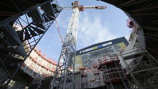 The Tokamak complex is pictured at the construction site of the ITER, in the CEN of Cadarache, in Saint-Paul-Lez-Durance, southern France