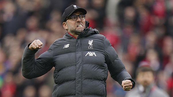 Jürgen Klopp à Liverpool le 7 mars 2020