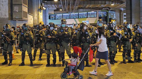 В Гонконге продолжаются акции протеста