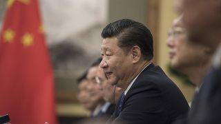 Le 5 décembre 2017, entretien entre Xij Jinping et Justin Trudeau, à Pékin