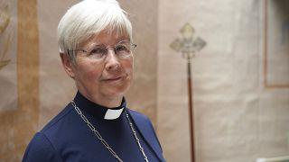 Pfarrerin Cristina Grenholm ist theologische Leiterin der Schwedischen Kirche