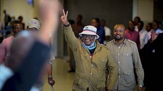 Hero's welcome for Tanzanian opposition leader