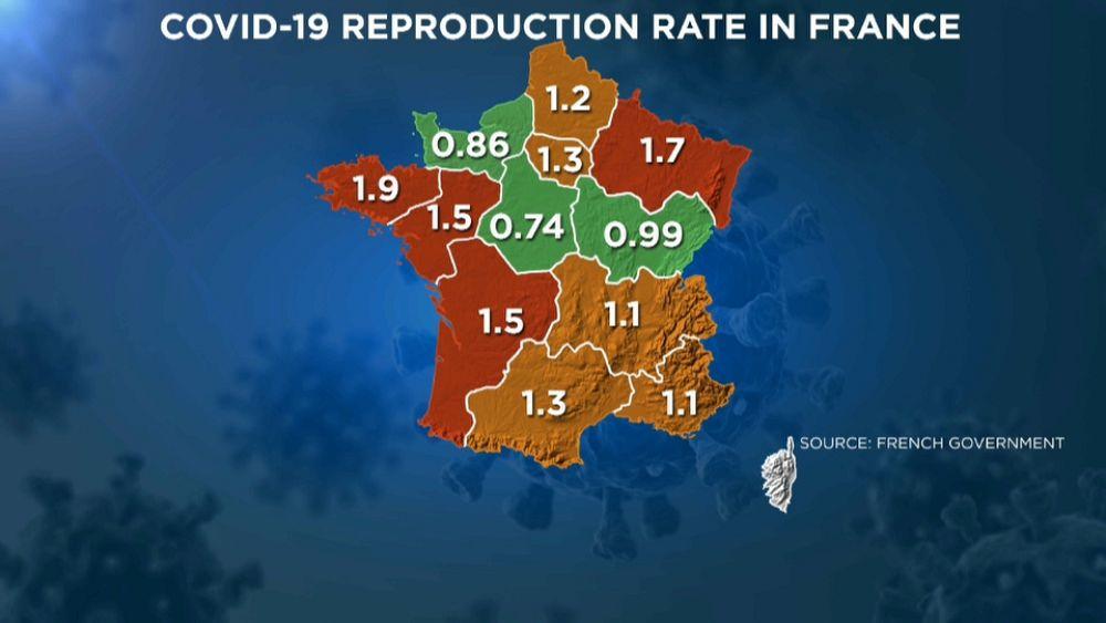 Francia Aumentano I Casi Di Covid 19 Tra I Giovani Colpa Degli Assembramenti Da Divertimento Euronews