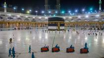 Mecca's Grand Mosque lies almost empty as Saudi gears up for downsized hajj