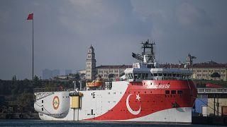 سفينة تركية للتنقيب في المتوسط