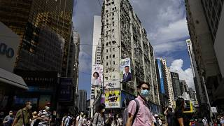 New daily infections in Hong Kong have been above 100 for the last six days.