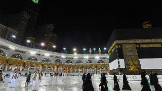 The Hajj pilgrimage was much smaller this year due to coronavirus.