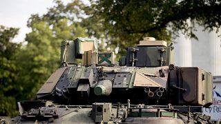 """فيديو """"القطار المسلح"""" الذي قدّم على أنه للجيش المصري يعود للأميركيين"""