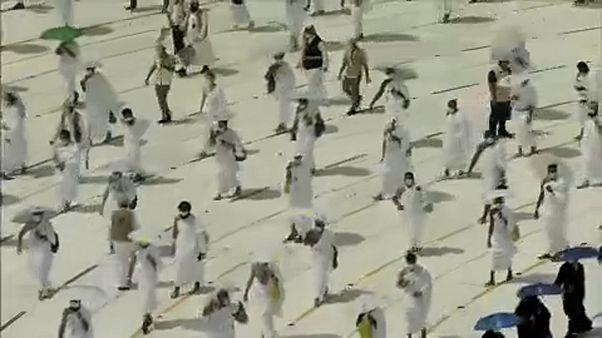 Peregrinação a Meca com limite de participações