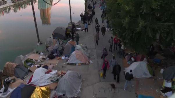 καταυλισμός μεταναστών