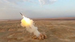 موشک بالستیک شلیک شده در رزمایش سپاه