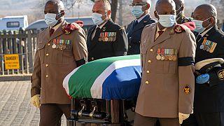 L'Afrique du Sud rend un dernier hommage à une icône anti-apartheid