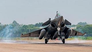 واردات جنگنده پس از ۲۳ سال؛ پنج رافال فرانسوی در هند فرود آمدند