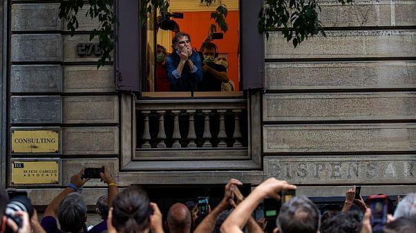 وضعیت «زندان باز» برای محکومان جداییطلب کاتالونیا لغو شد