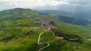 San Giovanni in Galdo felülnézetből