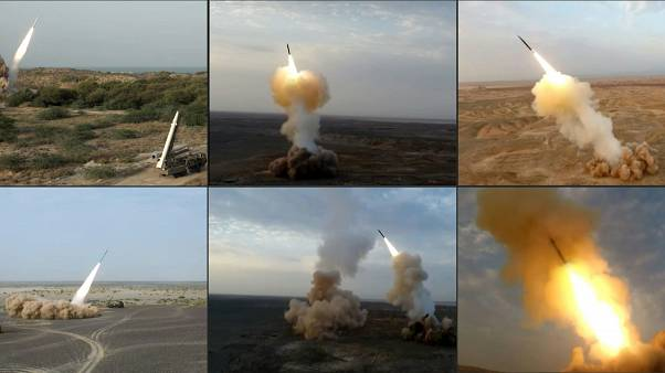 الصواريخ التي أطلقتها إيران