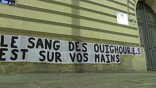 """L'un des messages des """"Colleuses"""" sur les murs de Paris, juillet 2020"""