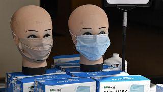 Gesichtsmasken in Dortmunder Geschäft