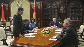 Заседание белорусского Совета безопасности