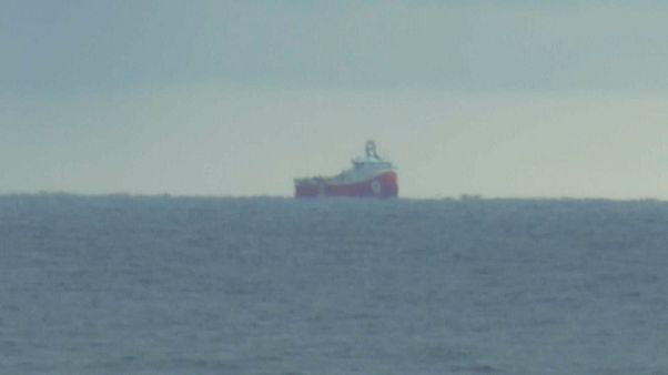 """Das türkische Explorationsschiff"""" Barbaros"""""""