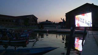 Cinema: a Venezia il drive-in è in barca