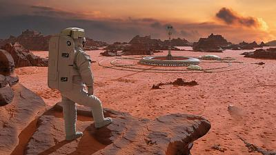 What it could look like if we make it to Mars.