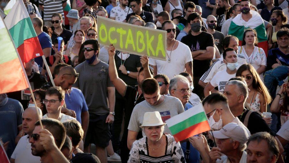 تظاهرات ضد دولتی در بلغارستان؛ معترضان خواهان استعفای نخست وزیر هستند