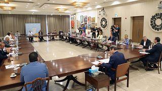 Την κατάσταση της πανδημίας στη Κύπρο συζητούν Πρόεδρος Αναστασιάδης και επιδημιολόγοι